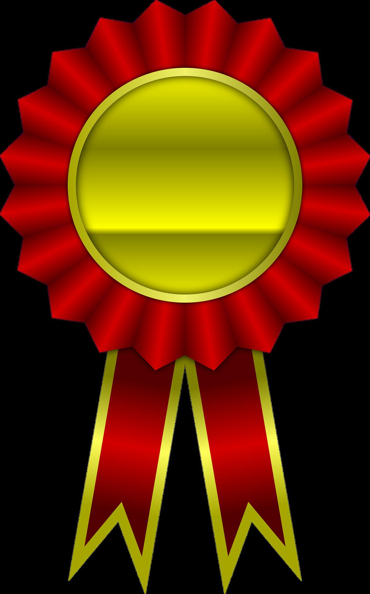 Izjemna tekmovalna medalja Icon